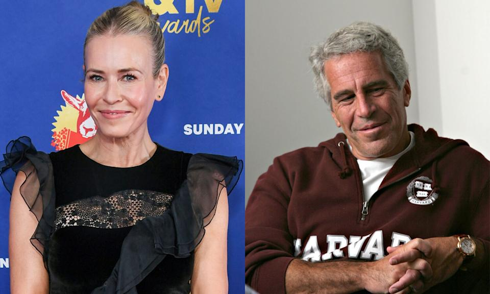 Chelsea Handler met Jeffrey Epstein one time and she said it was weird. (Photo: Getty Images)