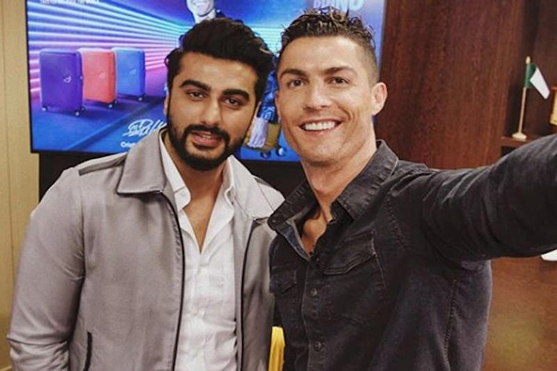 Arjun Kapoor Meets Ronaldo, Wishes Him Luck for Champions League Final