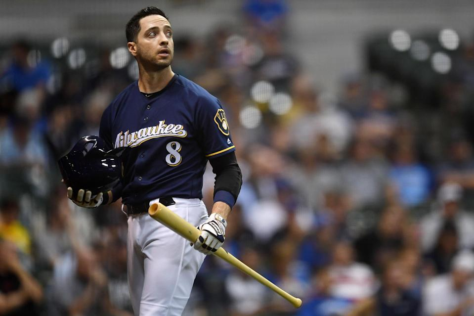 Ryan Braun is just a year removed from an 80-30-91-16-.305 season, but at least one of our analysts isn't interested. (Photo by Stacy Revere/Getty Images)