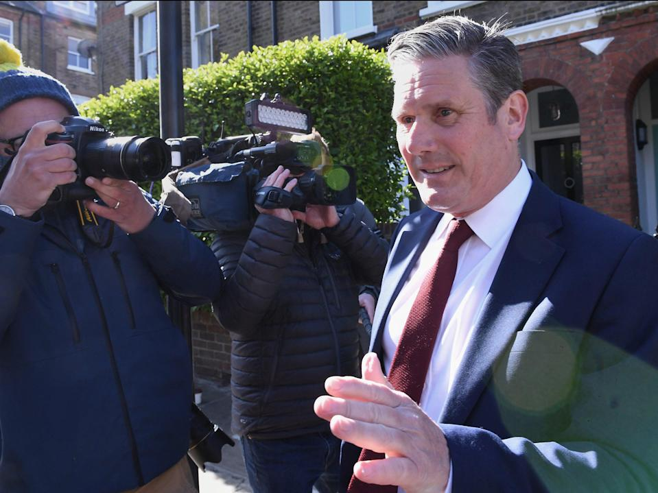 <p>Keir Starmer faced a difficult result for Labour in the Hartlepool by-election</p> (PA)