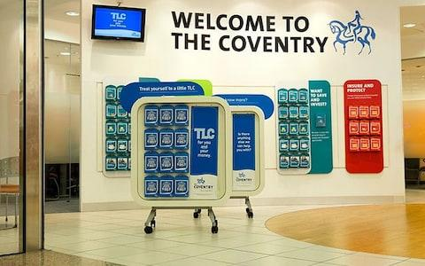 Coventry Building Society - Credit: Robert Convery / Alamy