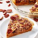 <p>If you have ever stressed over whether to have the pumpkin or pecan pie for dessert, then this will be your favourite slice.</p><p>Get the Pumpkin Pecan Pie recipe.</p>