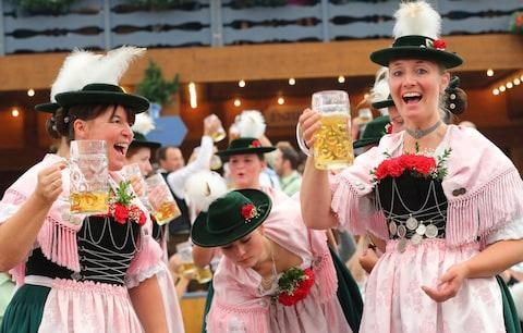 Oktoberfest in Munich - Credit: GETTY