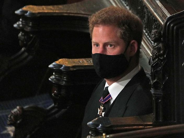 prince harry philips funeral