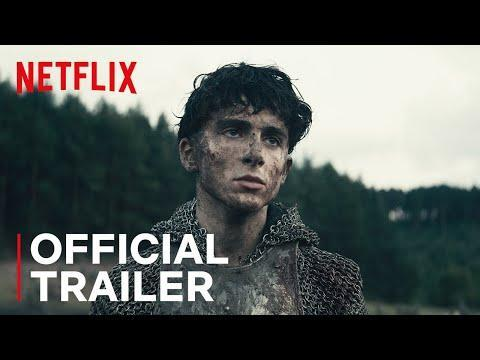 """<p><em>The King</em> is a 2019 Netflix film starring a variety of Timothée Chalamet haircuts. He plays Prince Hal, who ascends to the throne as King Henry V in the epic war film adapted loosely from Shakespeare's Henriad. Chalamet delivers an expertly balanced performance of youth and maturity in the role of Henry V as he reluctantly grapples with his Kingly fate, politics, and newfound power. It's essentially another coming-of-age story (sensing a theme here) just with a grandiose, bloody, Medieval change of scenery.</p><p><a class=""""link rapid-noclick-resp"""" href=""""https://www.netflix.com/watch/80182016?source=35"""" rel=""""nofollow noopener"""" target=""""_blank"""" data-ylk=""""slk:Watch Now"""">Watch Now</a></p><p><a href=""""https://www.youtube.com/watch?v=svVykTznk9Q"""" rel=""""nofollow noopener"""" target=""""_blank"""" data-ylk=""""slk:See the original post on Youtube"""" class=""""link rapid-noclick-resp"""">See the original post on Youtube</a></p>"""