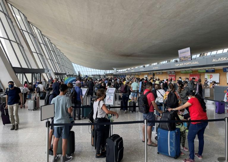 The easing of travel restrictions, imposed by Donald Trump as the Covid-19 pandemic first erupted, marks a significant shift by the United States (AFP/Daniel SLIM)