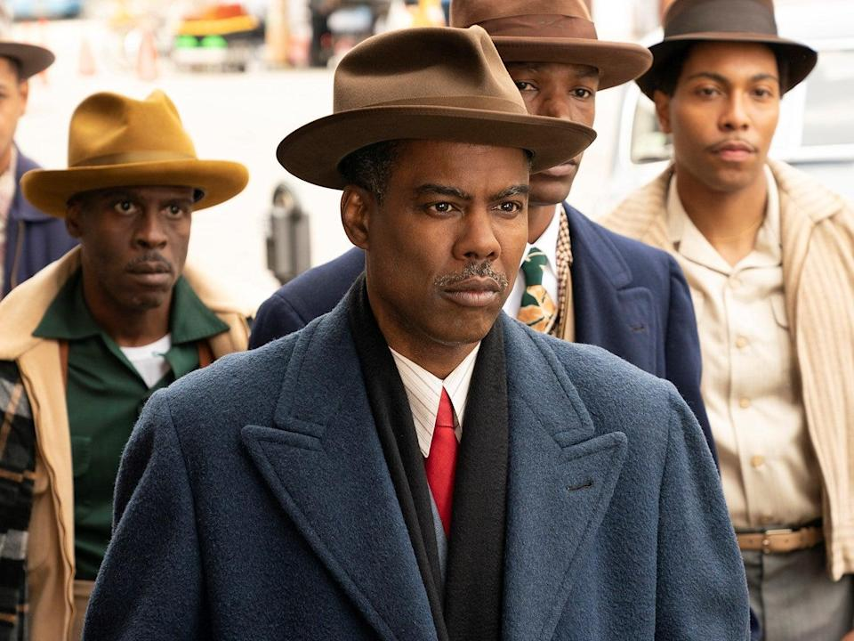 Chris Rock as Loy Cannon in Fargo year 4, episode 1: 'Welcome to the Alternate Economy' (Elizabeth Morris/FX)
