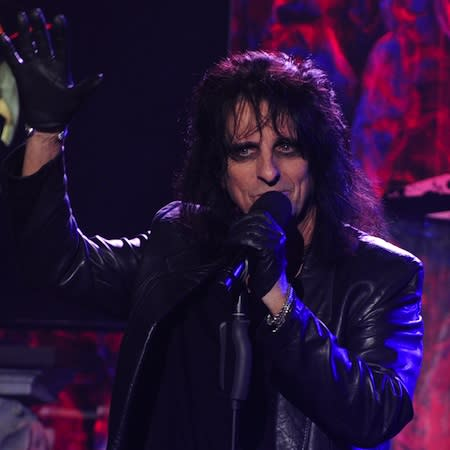 Alice Cooper: Gaga is inspirational