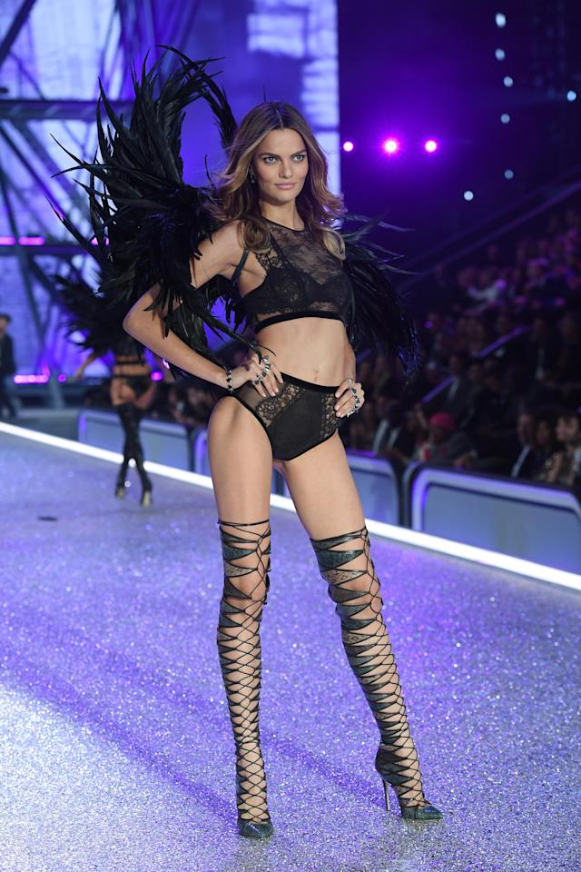 <p><i>Status: Returning<br> Age: 29<br> Nationality: Portuguese<br> First VS show: 2012<br> No. of shows walked: 5<br><i>(Photo: Getty)</i> </i></p>