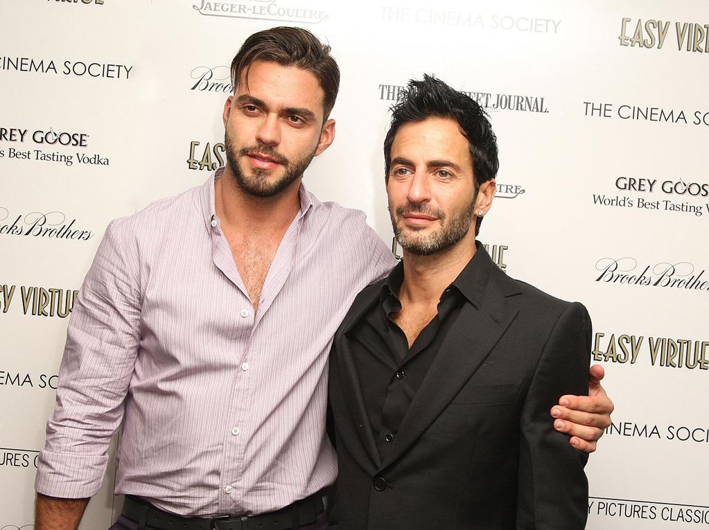 "Lorenzo Martone and <a href=""http://movies.yahoo.com/movie/contributor/1809096605"">Marc Jacobs</a> at the New York Cinema Society screening of <a href=""http://movies.yahoo.com/movie/1809765397/info"">Easy Virtue</a> - 05/11/2009"