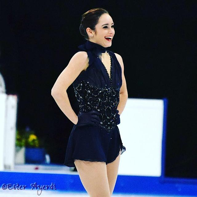 <p>Canadian figure skater Kaetlyn Osmond is competing in her second Winter Games in PyeongChang, having made her Olympic debut at the 2014 Sochi Games. (Photo via Instagram/kaetkiss) </p>