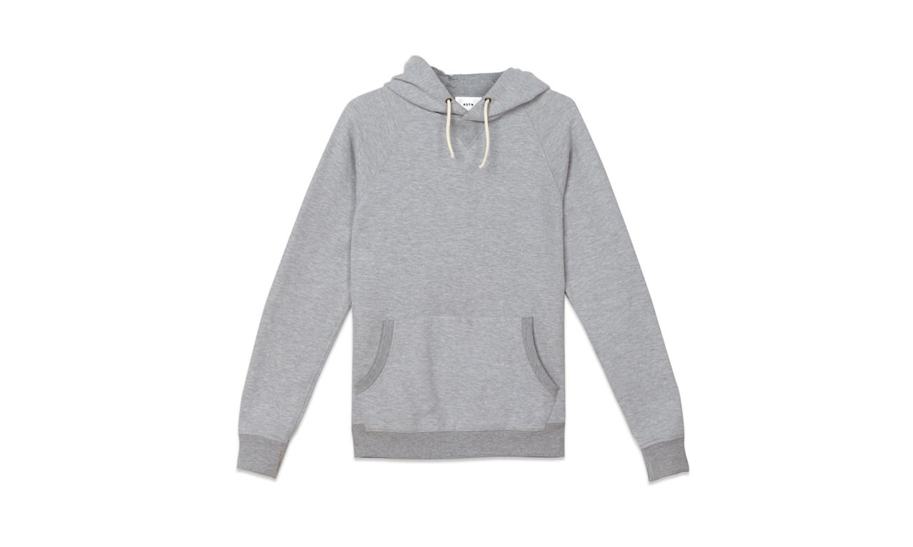 """<p>Kotn is a Toronto-based brand that utilizes ethically sourced Egyptian cotton to create casual basics.<br /><br />The Hoodie, $75, <a rel=""""nofollow"""" href=""""https://kotn.com/products/hoodie?variant=25074986632"""">kotn.com</a> </p>"""
