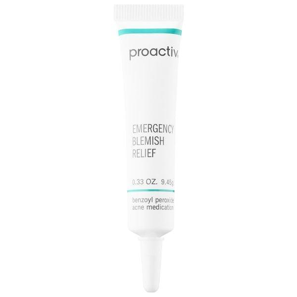 <p>This noncomedogenic <span>Proactiv Emergency Blemish Relief</span> ($20) is best used as a spot treatment, so dab it directly on your problem spots. The five-percent benzoyl peroxide is in a microcrystal form, so the formula can easily penetrate (and unclog) pores while targeting acne-causing bacteria, too.</p>