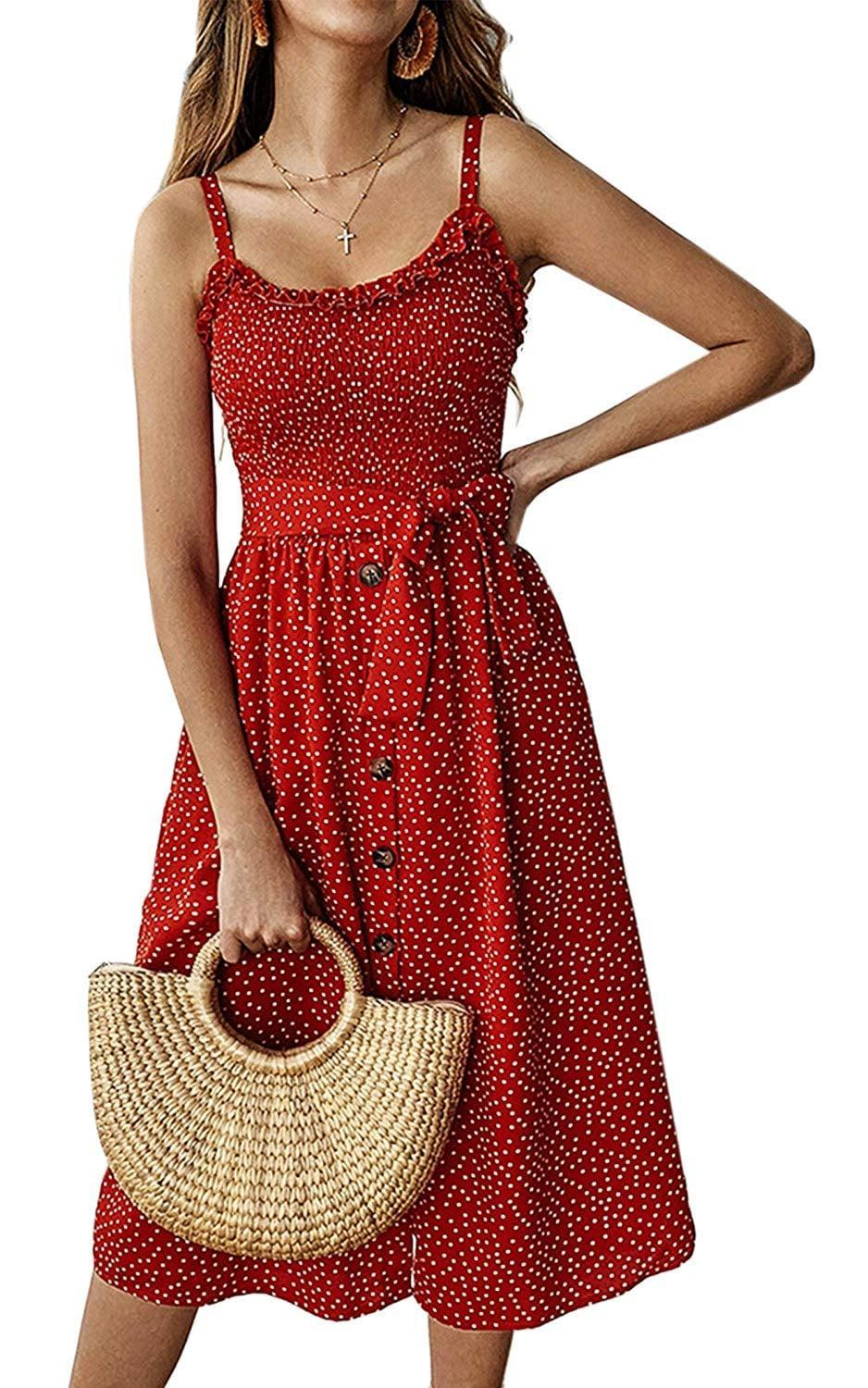 """<p>This <a href=""""https://www.popsugar.com/buy/Angashion-Summer-Dress-453541?p_name=Angashion%20Summer%20Dress&retailer=amazon.com&pid=453541&price=24&evar1=fab%3Aus&evar9=44705274&evar98=https%3A%2F%2Fwww.popsugar.com%2Ffashion%2Fphoto-gallery%2F44705274%2Fimage%2F47271388%2FAngashion-Summer-Dress&list1=shopping%2Ctravel%2Cfall%20fashion%2Cdresses%2Cfall%2Cday%20dresses%2Ctravel%20style%2Cspring%20fashion%2Csummer%20fashion&prop13=api&pdata=1"""" class=""""link rapid-noclick-resp"""" rel=""""nofollow noopener"""" target=""""_blank"""" data-ylk=""""slk:Angashion Summer Dress"""">Angashion Summer Dress</a> ($24) comes in lots of different colors.</p>"""