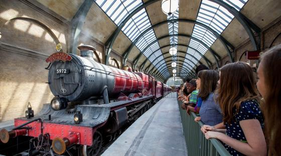 Hogwarts Express, at the Universal Orlando Resort