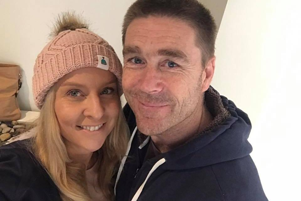 Victorian firefighter Troy Thornton and wife Christine. Troy Thornton died in a Swiss euthanasia clinic.