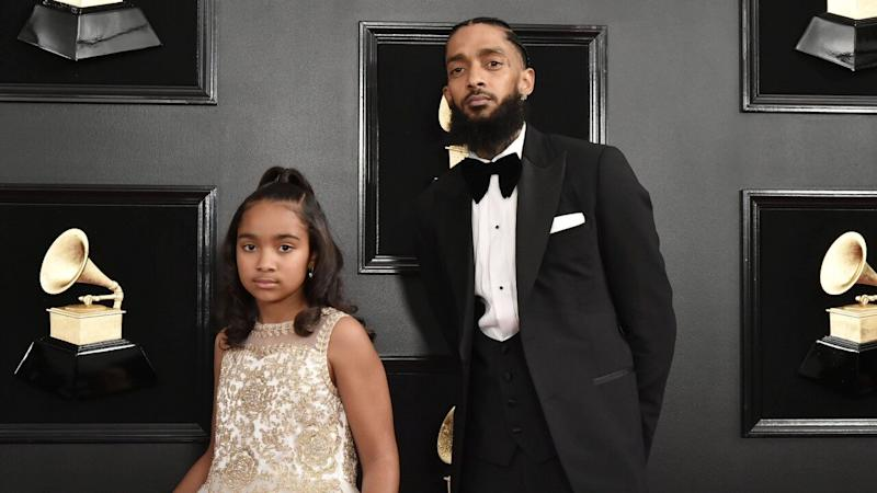 Nipsey Hussle's 10-Year-Old Daughter Honors Him at Graduation 2 Months After His Death
