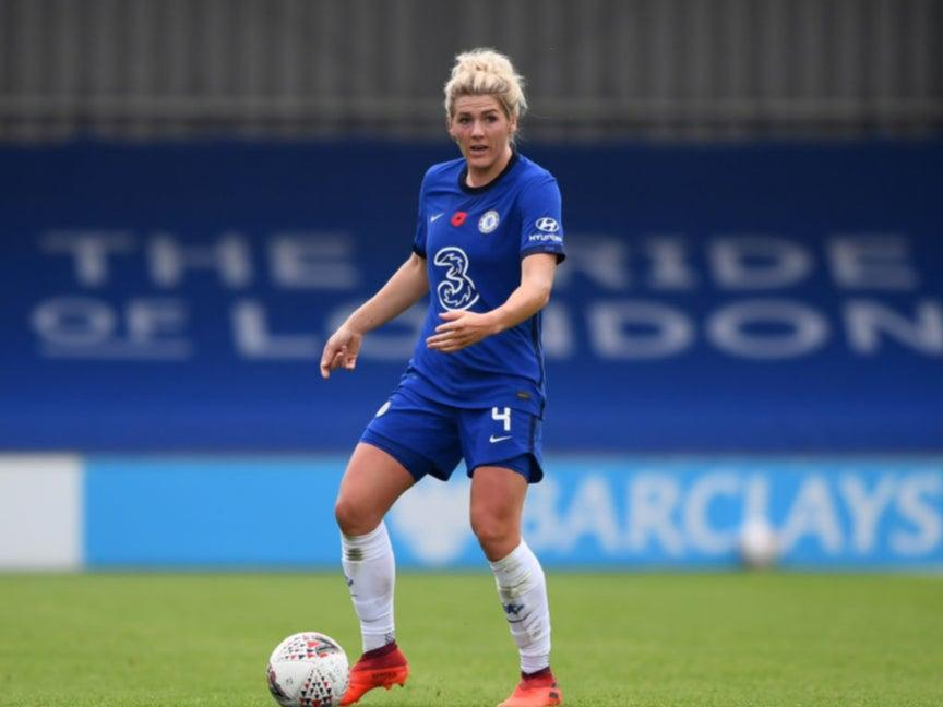 <p>Chelsea's Millie Bright</p> (Getty Images)