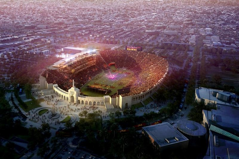 Historic Los Angeles venue renamed United Airlines Memorial Coliseum