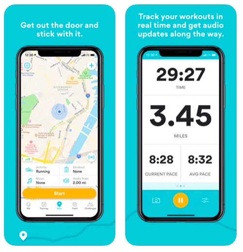 <p>Okay, so this isn't exactly a home workout app, but Run Keeper will track workouts (for running, walking, hiking and cycling), help you set goals — from running further to losing weight — and provides plans appropriate to your goal. It also connects with smartwatches like Fitbit and Apple watch, while connecting to MyFitnessPal too. Nifty, huh? </p>