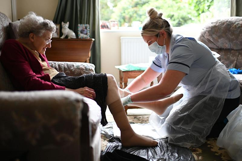 Social care staff have been on the front line of the coronavirus crisis: PA
