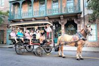 "<p><strong><a href=""https://www.viator.com/tours/Charleston/Charlestons-Old-South-Carriage-Historic-Tour/d4384-6656RIDE"" rel=""nofollow noopener"" target=""_blank"" data-ylk=""slk:Charleston's Old South Carriage Historic Tour"" class=""link rapid-noclick-resp"">Charleston's Old South Carriage Historic Tour</a></strong></p><p><strong>Charleston, South Carolina</strong></p><p>The city of Charleston has a ton of history, and this is one of the best tours to take it all in. You'll experience all the facts on a guided carriage tour where you'll see mansions, churches, gardens, and more, and you'll learn a lot about the charming destination's storied past.</p>"