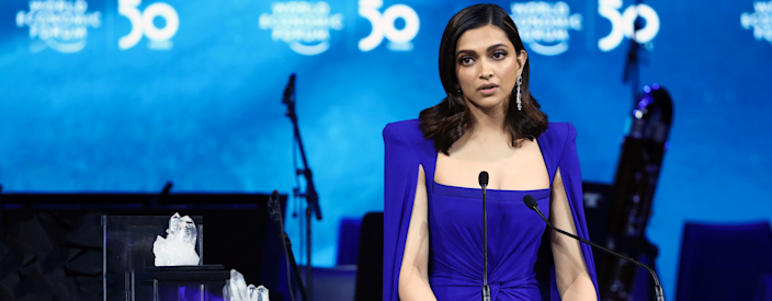 Deepika Padukone, actor and founder of the Live Love Laugh Foundation recounted her journey of coping with mental illnesses and voicing her experience publicly at the annual meet of the World Economic Forum 2020