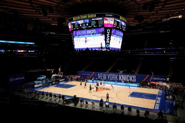 The New York Knicks will play in front of fans at Madison Square Garden on February 23, 2021 for the first time in almost a year
