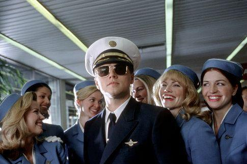 "<p><strong>Movie:</strong> <em>Catch Me If You Can</em></p><p>When the 2002 movie was released, <a href=""https://www.menshealth.com/entertainment/a30547049/leonardo-dicaprio-net-worth/"" rel=""nofollow noopener"" target=""_blank"" data-ylk=""slk:DiCaprio"" class=""link rapid-noclick-resp"">DiCaprio</a> was already a bonafide star. But unlike his character, who was a teenager, the actor was pushing 28 during filming. </p>"