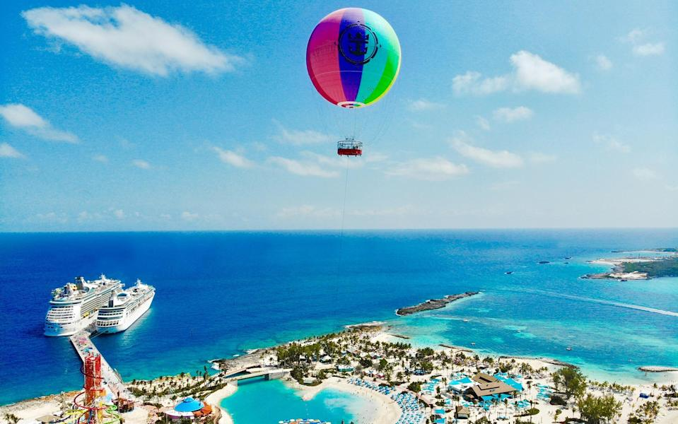 Perfect Day at CocoCay, a Royal Caribbean Cruise Line island, opened in early May