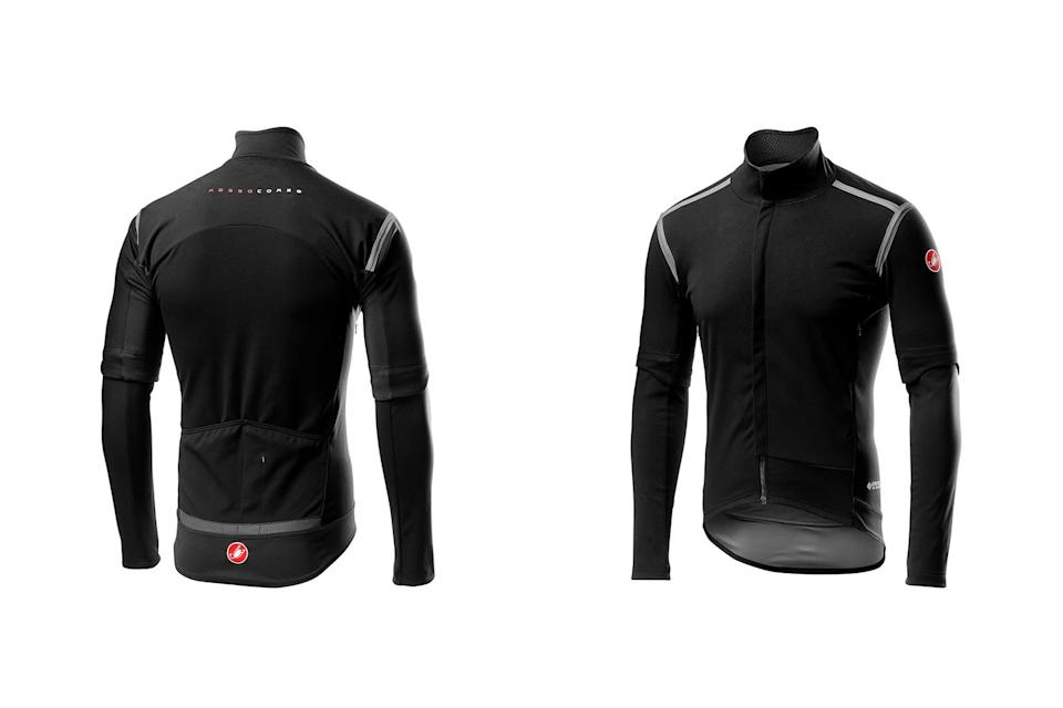 Best winter cycling jackets: Castelli Perfetto ROS Convertible Jacket