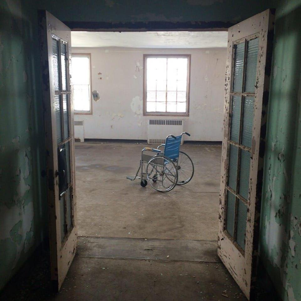 """<p><strong>Rolling Hills </strong><strong>Asylum - East Bethany, NY</strong></p><p>The former mental institution and poorhouse, which closed its doors in 1974, is located just outside of Buffalo, NY. The building is <a href=""""https://www.rollinghillsasylum.com"""" rel=""""nofollow noopener"""" target=""""_blank"""" data-ylk=""""slk:currently open for tours"""" class=""""link rapid-noclick-resp"""">currently open for tours</a> and has been featured on a slew of paranormal investigation reality shows. Dozens of ghostly encounters have been reported on the property–are brave enough to spend the night? <br></p><p>Photo: Yelp/<a href=""""https://www.yelp.com/biz_photos/rolling-hills-asylum-east-bethany?select=wZFTbSF1cF7_ap_C7i6h8Q"""" rel=""""nofollow noopener"""" target=""""_blank"""" data-ylk=""""slk:Mike RideABike L."""" class=""""link rapid-noclick-resp"""">Mike RideABike L.</a></p>"""