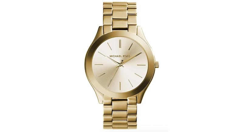 Michael Kors Women's Analog Quartz Watch with Stainless Steel Strap MK3197
