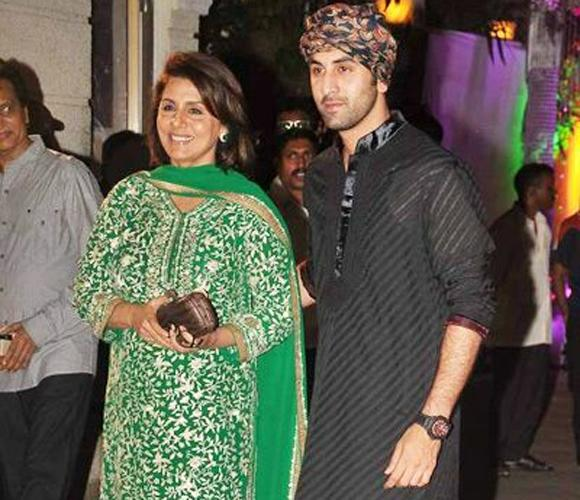 2. Ranbir Kapoor Everyone says that Ranbir's a mama's boy and he proudly admits it too. According to him, she is the only one who knows what's happening in his life & loves him unconditionally. In fact Neetu is so involved in her son's life that she reportedly approves of the women he dates too. Maybe the reason behind Ranbir's not-giving-a-damn attitude is because he is only answerable to his parents and with a mother as supportive as Neetu, there's no reason to be afraid of your actions.
