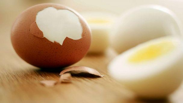 PHOTO: A hard boiled egg is seen in this stock photo. (STOCK PHOTO/Getty Images)