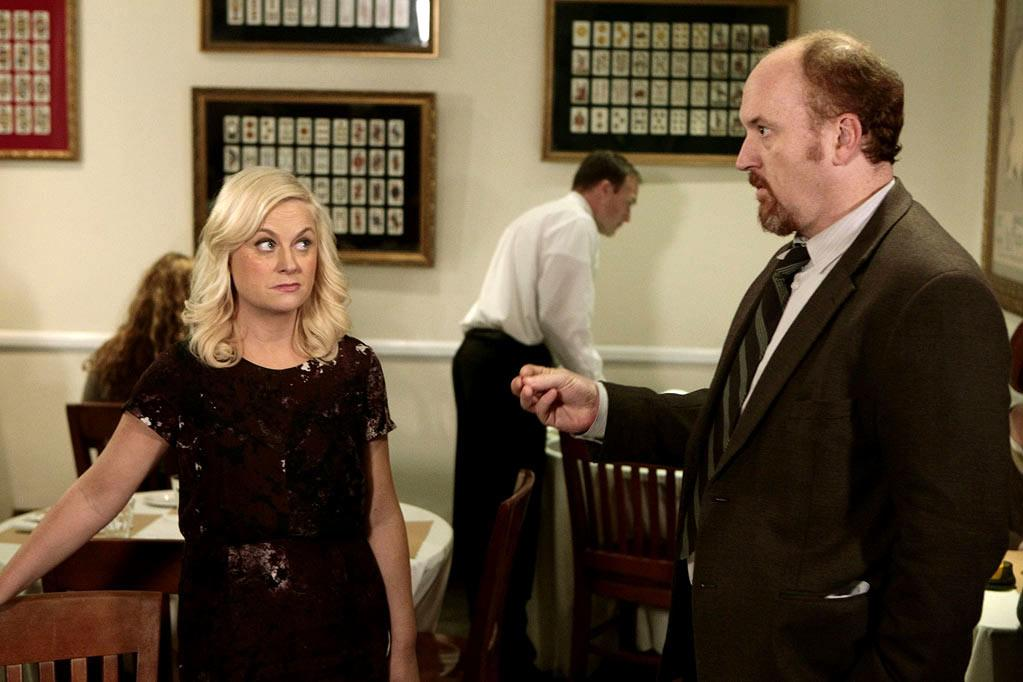 "Louis C.K. on ""<a>Parks and Recreation</a>""<br><br>Yes! The star of one of our favorite TV comedies (FX's ""<a>Louie</a>"") returns to one of our other favorite TV comedies. C.K. reprises his role as cop Dave Sanderson, who had a brief relationship with Leslie back in Season 2; Dave runs into Leslie and new boyfriend Ben during a campaign event. Shouldn't be awkward at all, right? (Actually, we're hoping it's very awkward.) ARE WE EXCITED? Absolutely. These are two great tastes that taste great together. <br><br>Thursday, 2/16 at 8:30 PM on NBC"