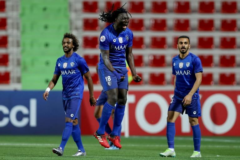 Gomis celebrates his match winner