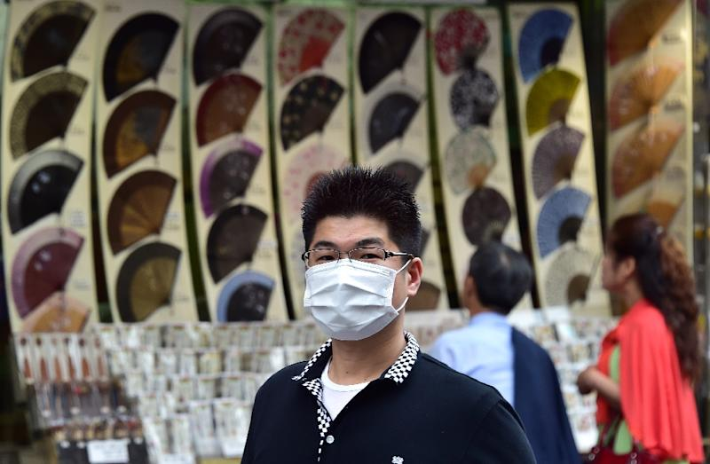 The number of new MERS patients had been falling for three straight days from eight on Tuesday to none on Saturday (AFP Photo/Jung Yeon-Je)