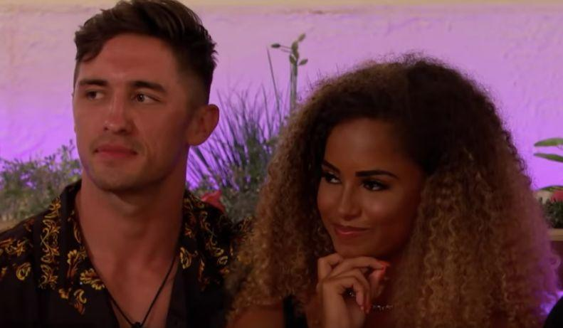 Greg and Amber  (Photo: ITV2)