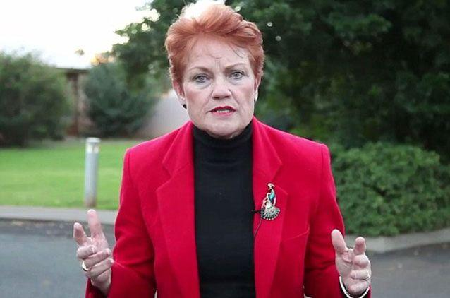Pauline Hanson has copped flack for video likening Muslims to dangerous dogs in the wake of the Orlando massacre. Picture: Facebook/Pauline Hanson Please Explain