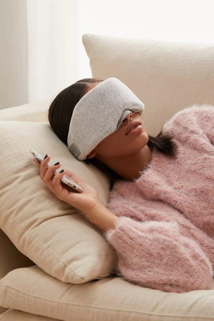 <p>This <span>Wireless Music Sleep Mask</span> ($40) lets you listen to music while you sleep without worrying about losing your AirPods (been there).</p>