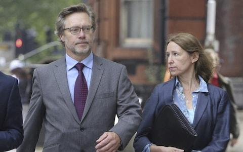John Letts and Sally Lane are accused of funding terrorism when they sent their son money - Credit: SWNS