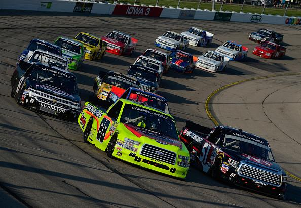 Chastain takes NASCAR Truck race at Iowa Speedway