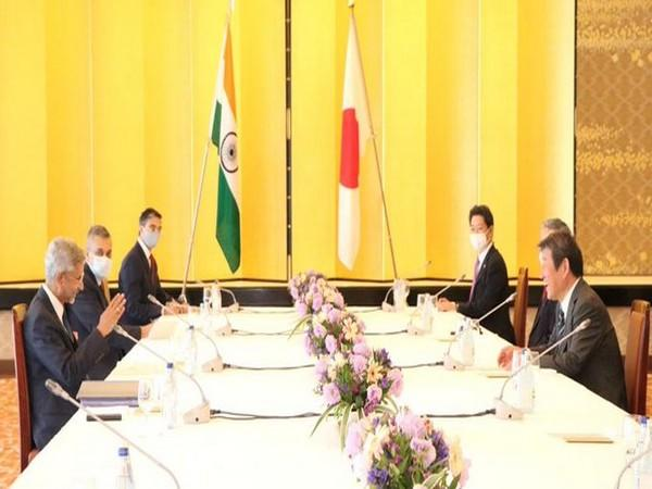 The meeting between Jaishankar and Motegi went on for over an hour