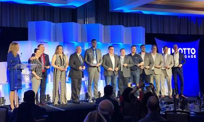 Motto Mortgage franchise broker owners and loan originators are honored at the 2019 Motto MILE Summit. One-hundred awards were given out at the event, recognizing the network's achievements last year. Based in Denver, Motto Franchising, LLC's unique national franchise mortgage brokerage model is the first of its kind in the United States, and currently has over 100 franchises sold, and nearly 80 offices open in 30 states. Each Motto Mortgage office is independently owned, operated and licensed.