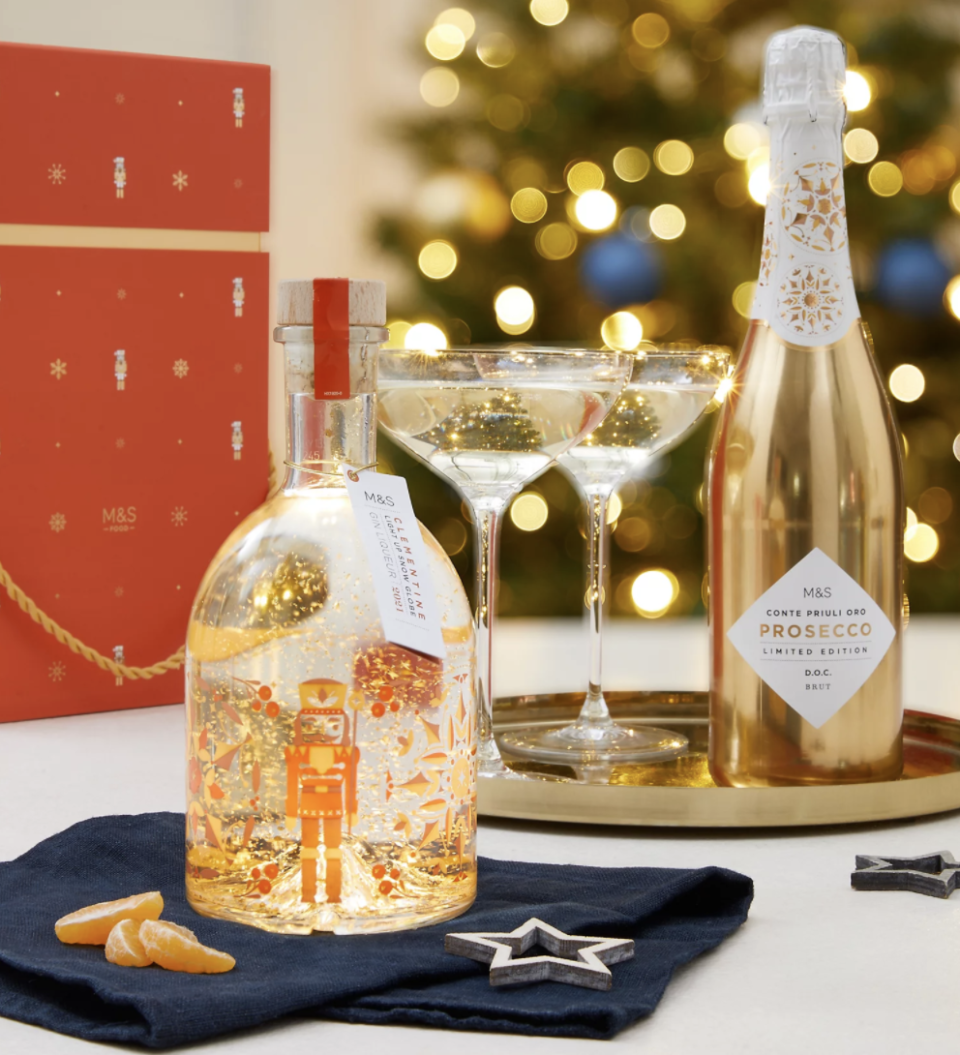 You can pre-order the popular festive tipple online now. (Marks & Spencer)
