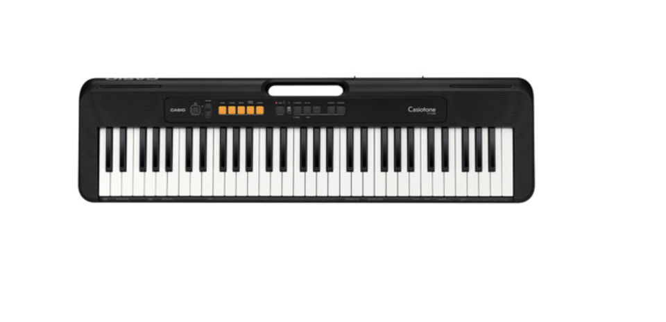Casio 61-Key Electric Keyboard (CT-S100) - Black - Only at Best Buy
