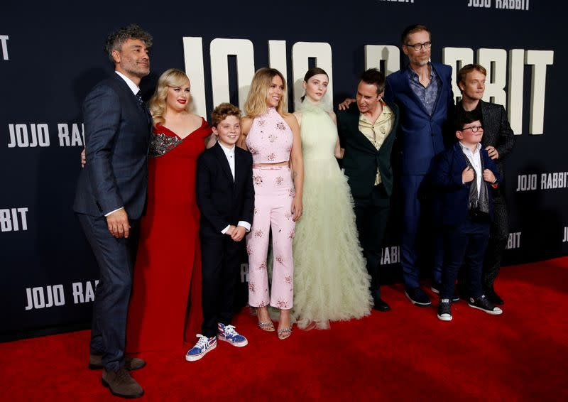 "FILE PHOTO: Premiere for the movie ""Jojo Rabbit"" in Los Angeles"