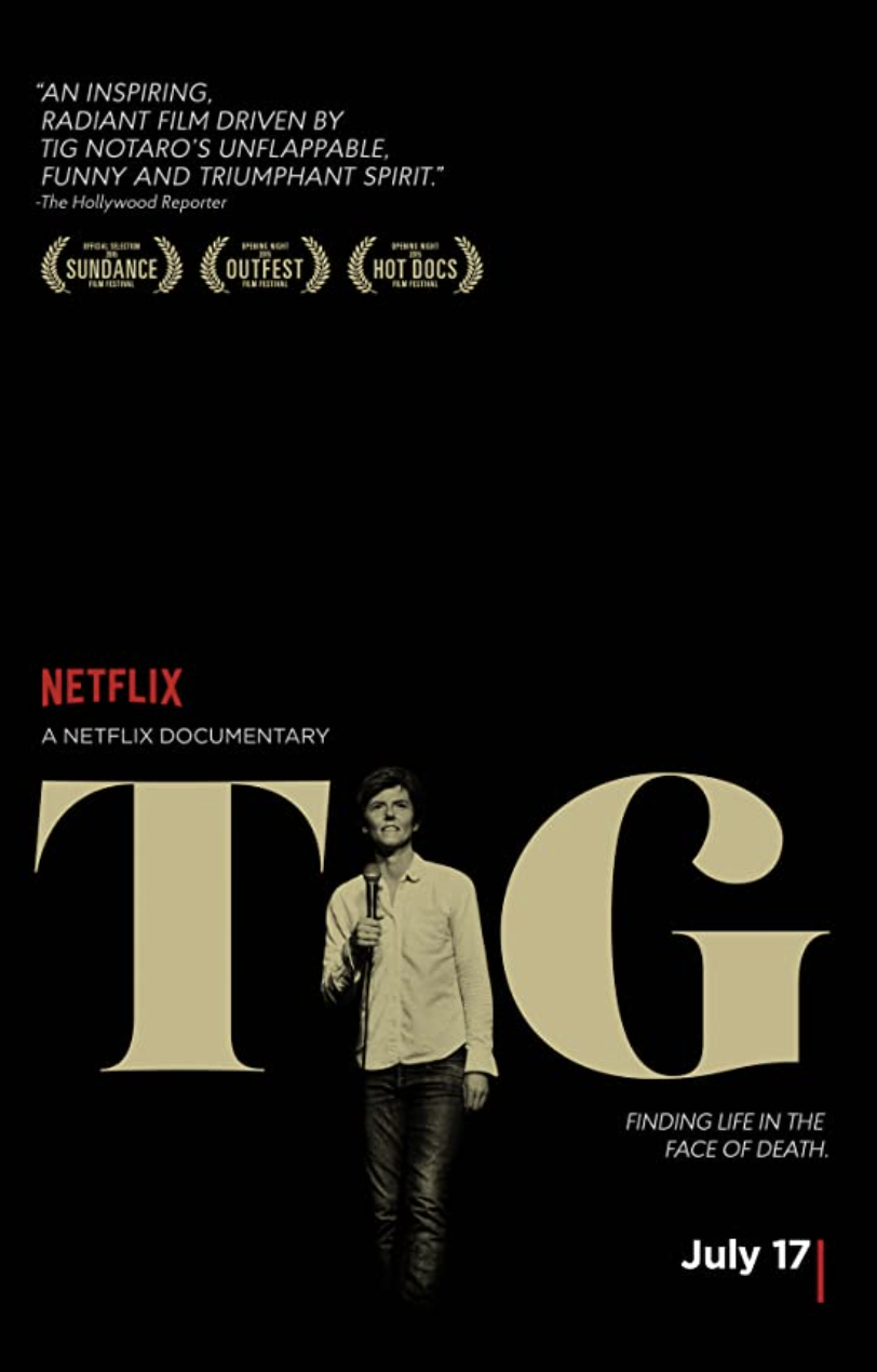 "<p>Fans of comedian Tig Notaro will love this tear-jerking documentary about life after a devastating cancer diagnosis. Those of us who cried our way through her stand-up set where she announced it, show this to a friend.</p><p><a class=""link rapid-noclick-resp"" href=""https://www.netflix.com/title/80028208"" rel=""nofollow noopener"" target=""_blank"" data-ylk=""slk:STREAM NOW"">STREAM NOW</a><br></p>"