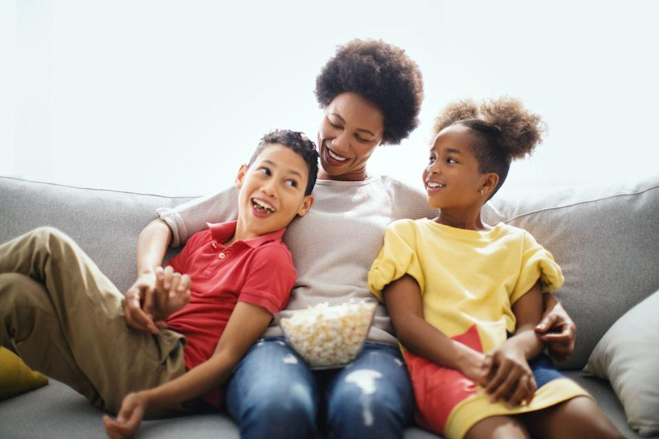 """<p>If your mom is a bit of a cinephile, she'll love a Mother's Day inspired movie marathon. Pop the popcorn, snag some of mom's favorite movie snacks, and queue up a few<a href=""""https://www.womansday.com/life/entertainment/g27323954/mothers-day-movies/"""" rel=""""nofollow noopener"""" target=""""_blank"""" data-ylk=""""slk:Mother's Day movies"""" class=""""link rapid-noclick-resp""""> Mother's Day movies</a> that the entire family will enjoy. Just make sure you have the tissues nearby, as more than a few of them are real tear-jerkers.</p>"""